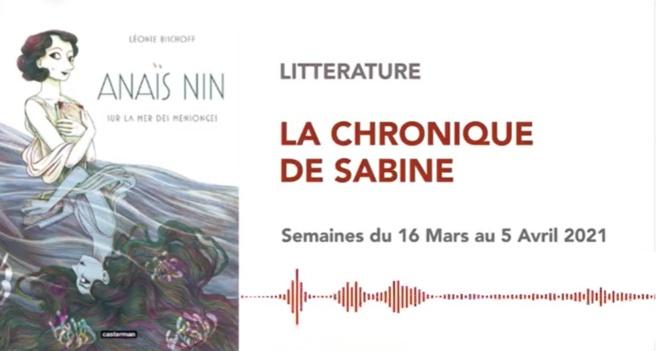 La Chronique de Sabine du 20 Mars 2021