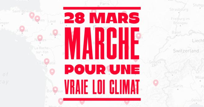 """Une """"Marche pour une vraie loi climat"""" à Manosque"""