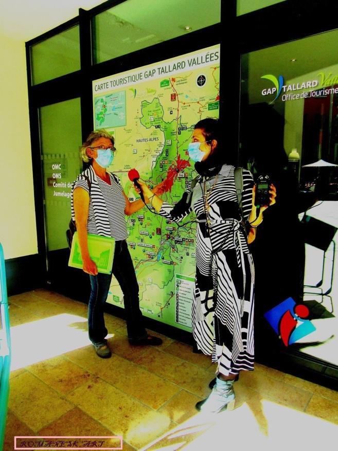 Guide Conférencière Anne Clément nous fait découvrir Gap.