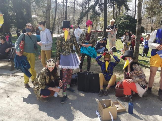 Le carnaval des libertés, c'était ce samedi 04 avril
