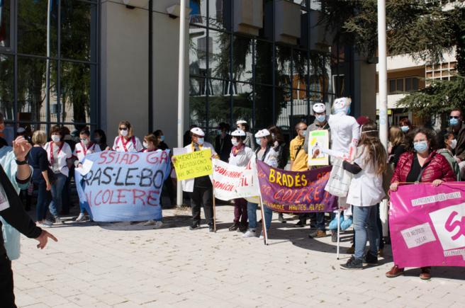 Une nouvelle manifestation pour la prime Ségur jeudi dernier à Gap