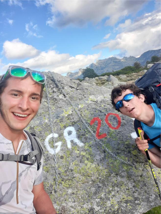 Tim Jacquot et Pierre Bonef prêts pour le GR 20 : départ le 1er août 2021