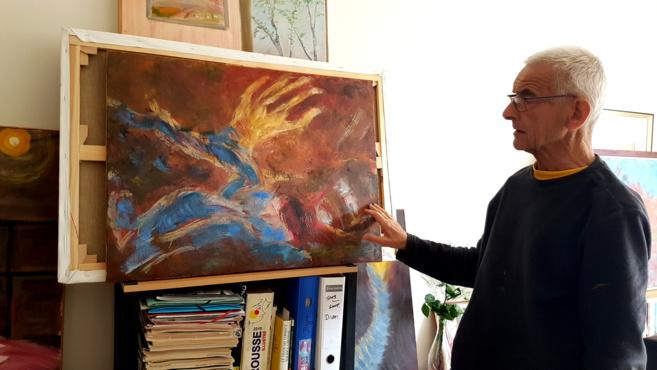 Derrière nos vitres colorées : un livre hommage à Samuel Paty par Claude Braun et Mohand Chibout