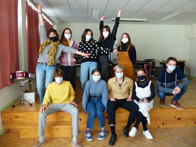 Au Lycée d'Altitude de Briançon, le théâtre comme apprentissage de la vie