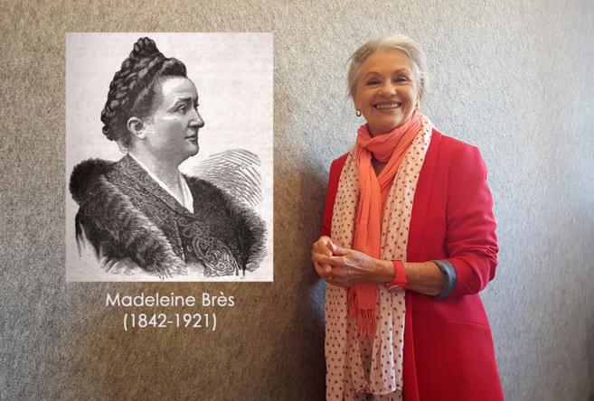 Madeleine Brès (1842-1921) et Jacqueline Hennegrave