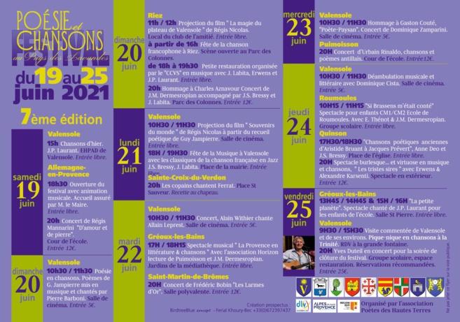 Jacques Bec poète des hautes terres présente le Festival Poésie et chansons au Pays des Lavandes
