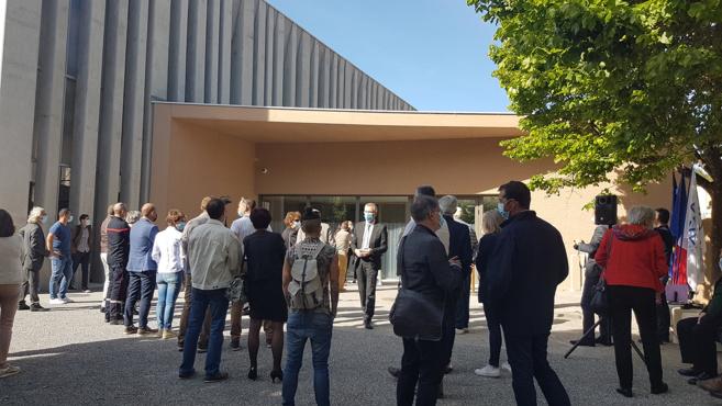 Inauguration du gymnase Maria Borrely