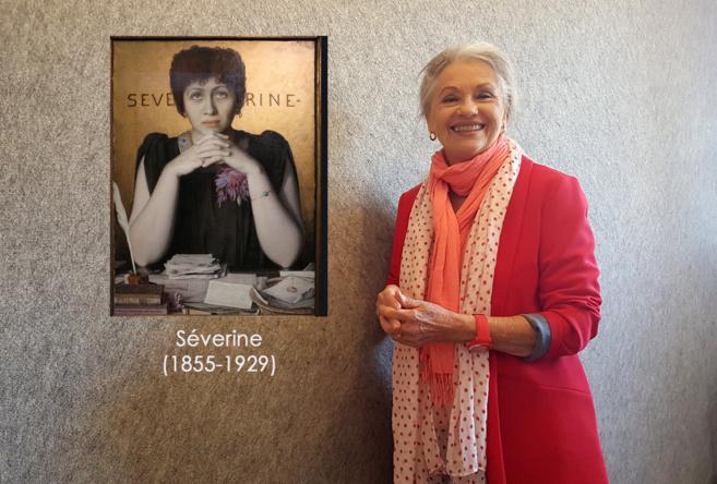 Séverine (1855-1929) et Jacqueline Hennegrave