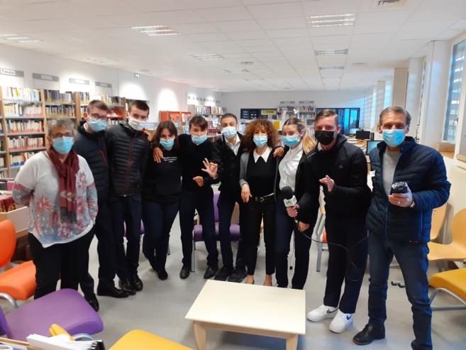 Emission avec les élèves du Lycée Hôtelier Paul Arène de Sisteron.