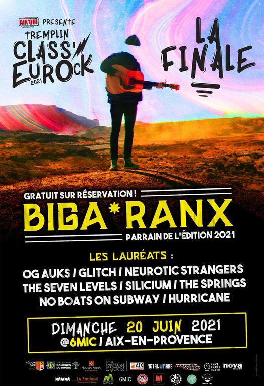 le grand final Class'EuRock ce dimanche et festival le tour du pays d'aix 2021