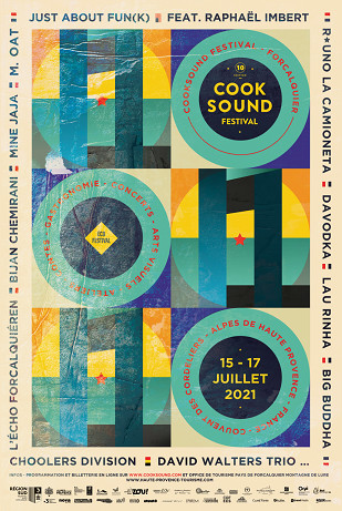 COOKSOUND FESTIVAL / 15 AU 17 JUILLET 2021
