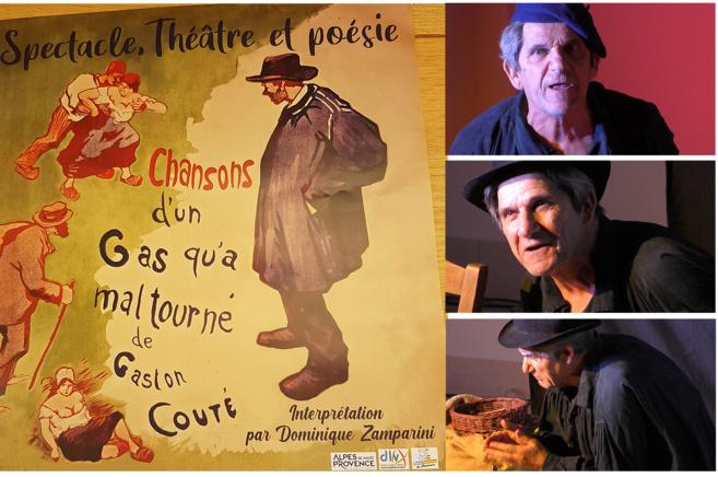 Dominique Zamparini a célébré l'art de Gaston Couté à Valensole