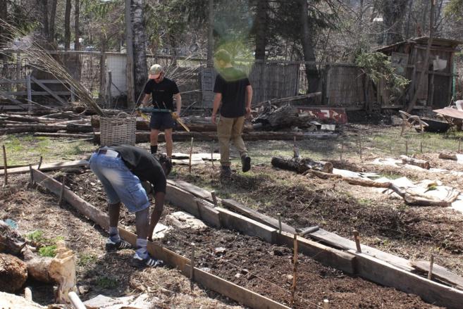 Atelier conservation et préparation du sol pour l'arrivée du printemps