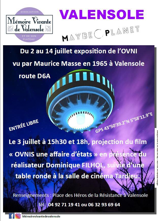 1er juillet 1965 : l'apparition d'un OVNI sur le plateau de Valensole