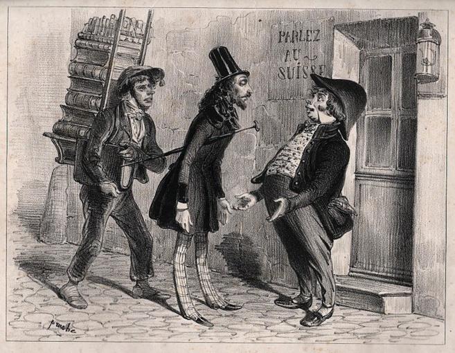 Gravure de Clément Pruche (cir. 1840's) - Source Wikipedia commons