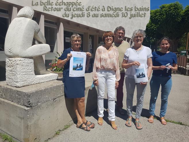 Retour du ciné d'été à Digne les bains les 8, 9 et 10 juillet