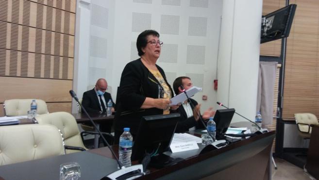 Eliane Barreille première présidente du CD 04