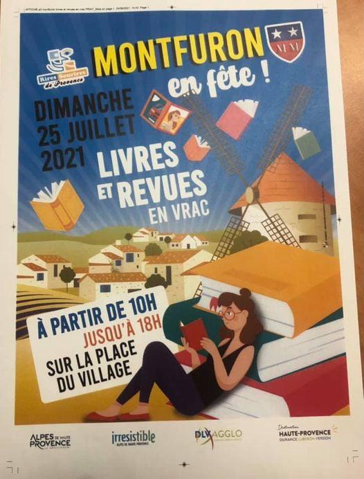 Dimanche 25 juillet 2021-Livres et revues en vrac à Montfuron(04)