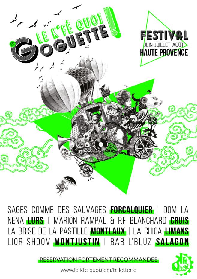 Festival le K'Fé QUoi en Goguette-Des places à gagner pour un concert