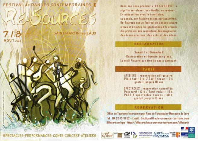 Re-Sources: un festival de Danses Contemporaines