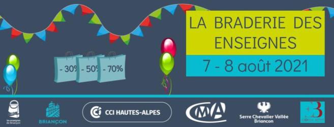 Profitez de bonnes affaires  grâce à la braderie estivale des commerçants de Briançon/Serre Chevalier !