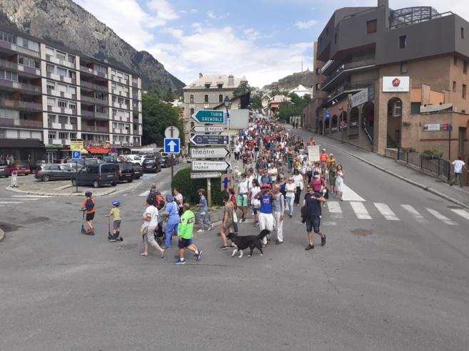 Briançon : Nouvelle manifestation contre le pass sanitaire ce samedi !