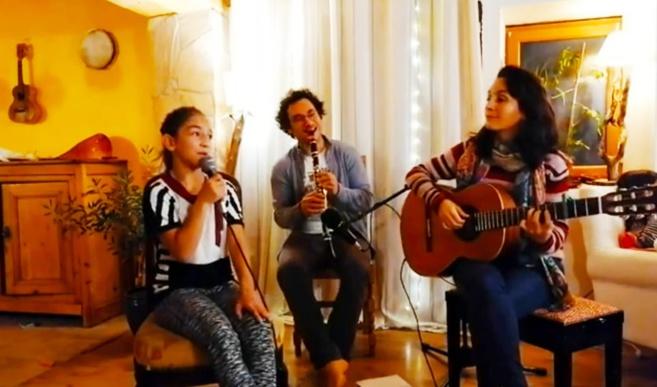 A la rencontre d'une famille musicienne !