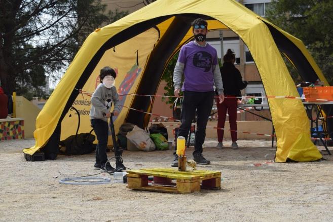 """Cité débrouillarde des Lilas (Marseille, 14ème) des vacances de printemps 2020 sur les thème """"La transition écologique et les déchets"""""""