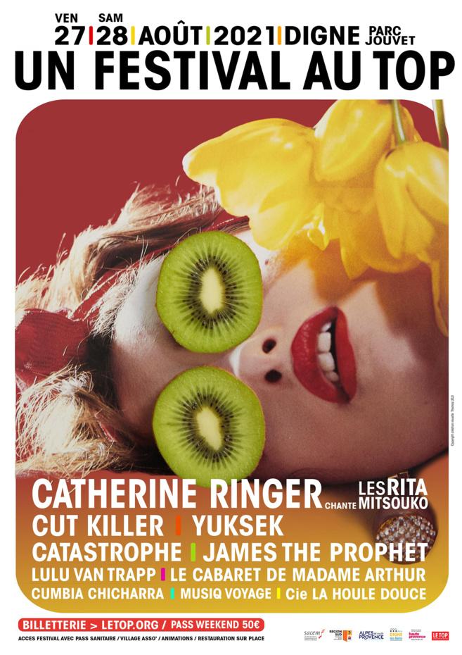Catherine Ringer au Festival au TOP - FESTIVAL ANNULé et reporté ultérieurement...
