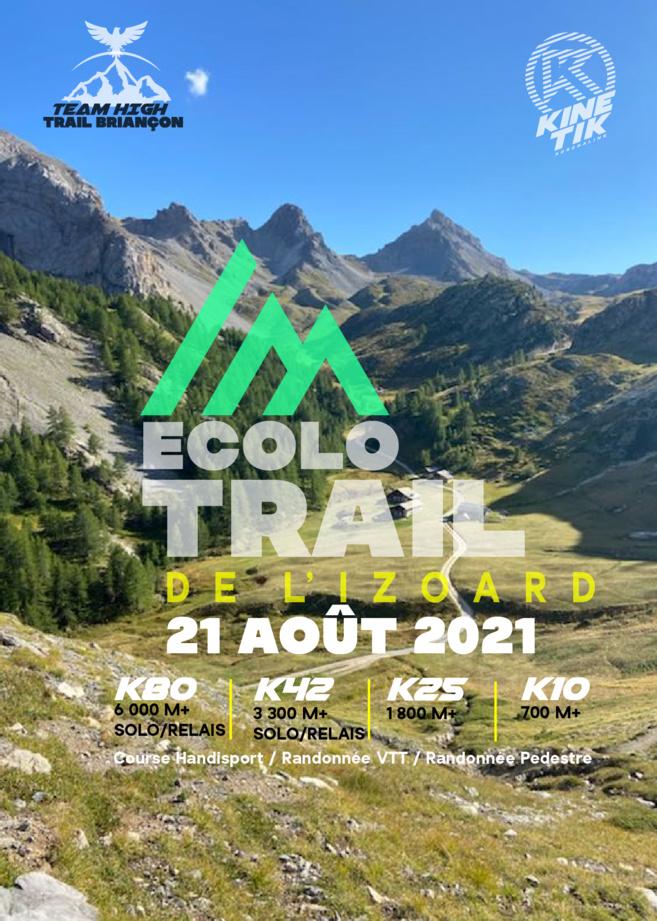 la deuxième édition de l'Ecolo Trail de l'Izoard se déroulera le samedi 21 août