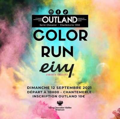 Outland l'a fait ! La Color Run débarque dans les Hautes-Alpes !