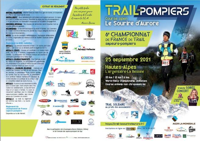 """Le """"Trail le sourire d'Aurore"""" Pour vaincre la SLA sera organisé ce samedi 25 septembre !"""