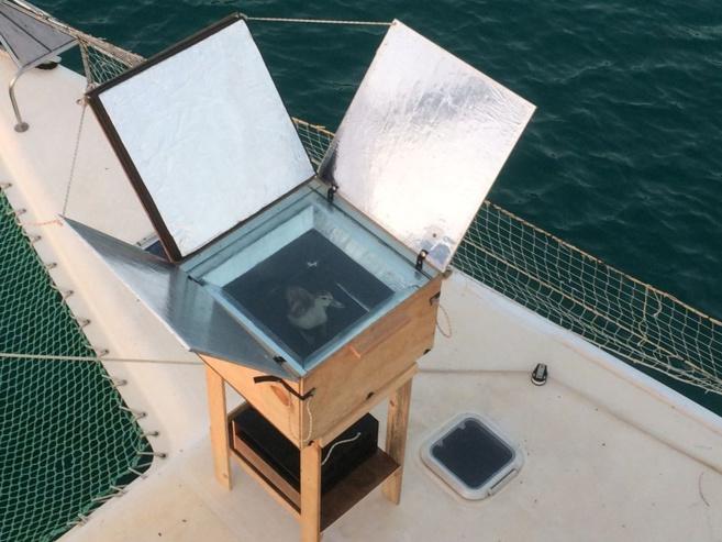 La construction d'un multicuiseur solaire proposé par EKO !
