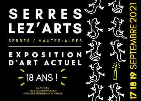 Serres Lez' Arts, exposition d'art actuel ce 17 et 18 septembre