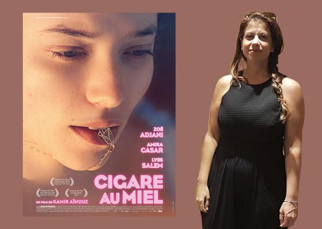 """Kamir Aïnouz réalisatrice de """"Cigare au miel"""""""