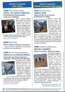 Jacqueline Ursch présente les Journées Grands Voyageurs du 24 et 25 septembre à Digne