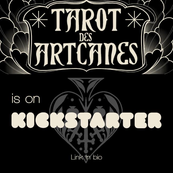 Le Tarot des Artcanes, une création collaborative