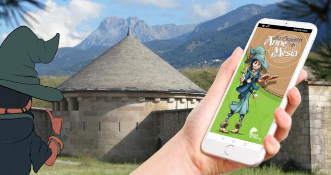« Les Enquêtes d'Anne Mésia »: la nouvelle application de visite  pour découvrir le village fortifié de Mont-Dauphin