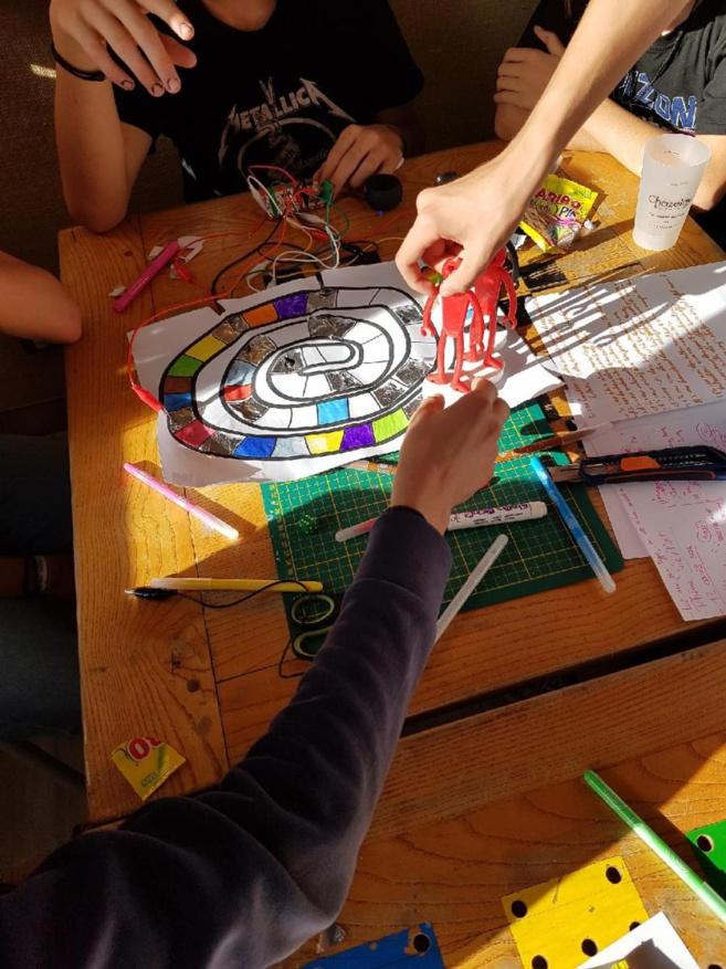 Des ateliers makers proposé à la ludothèque de Briançon !