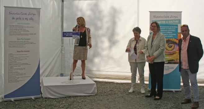 Santé: retour sur l'inauguration du village de la Fondation Seltzer