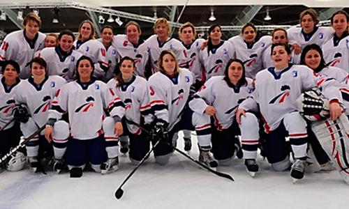 L'équipe de France féminine de hockey sur glace s'est entraînée à Briançon