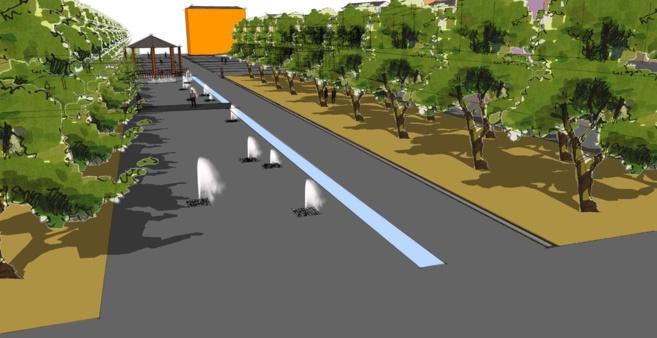 A Digne, le réaménagement de la Place du Général de Gaulle a démarré