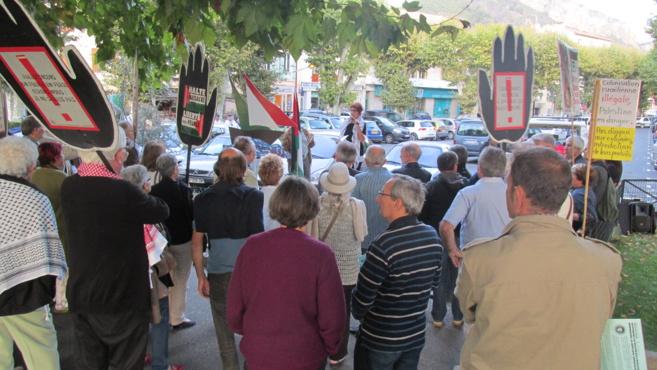 Un rassemblement pour la Palestine a eu lieu à Digne vendredi soir