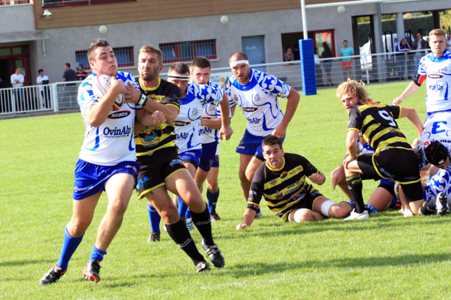 A l'issue de trois matches, un premier bilan en demi-teinte pour le rugby des Alpes du sud !
