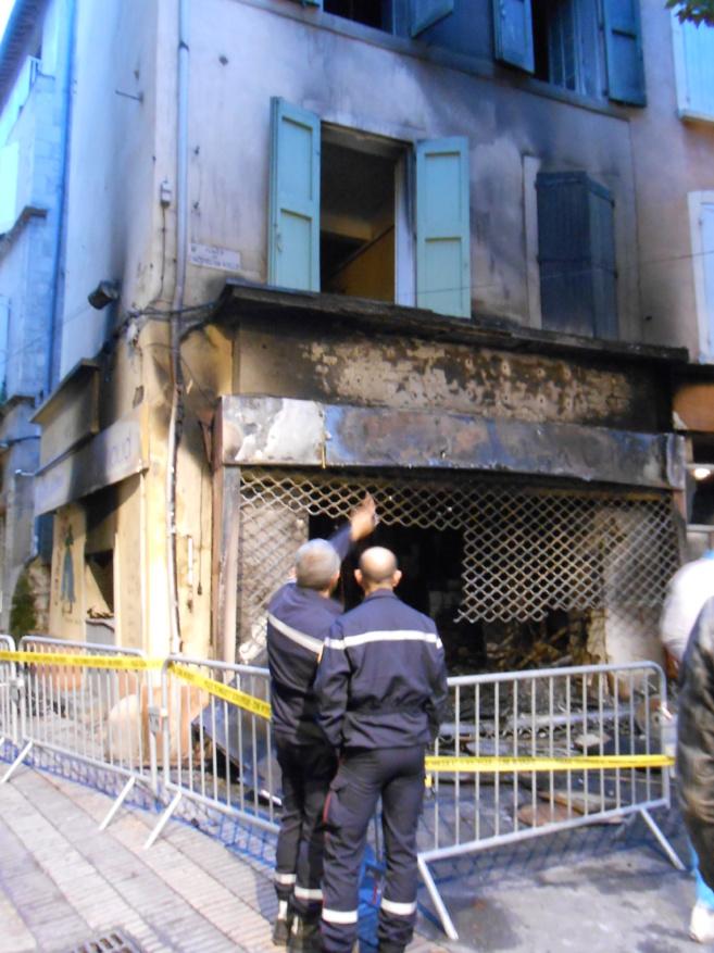 Un incendie a ravagé un établissement de restauration à Manosque cette nuit