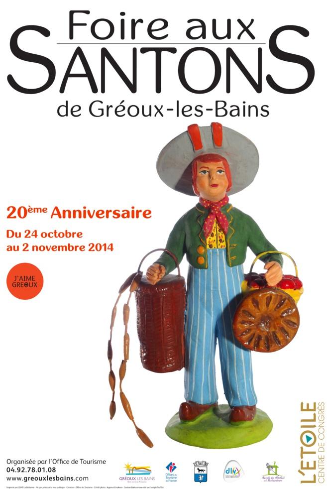 Pour la 20° année, Gréoux fête le santon…