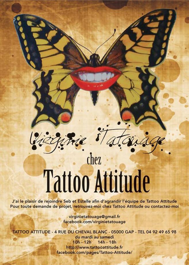 Virginie Tatouage : une artiste gapençaise dont la peau est une toile…