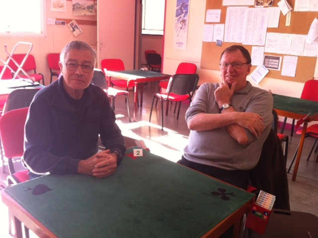 Une visite au club de bridge de Briançon