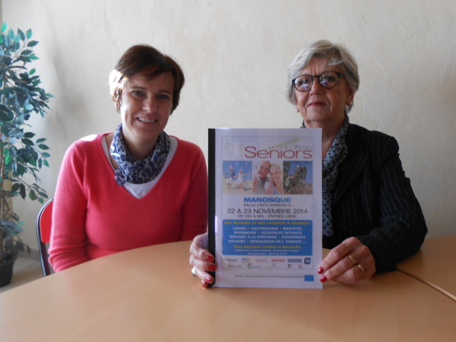 Premier salon des seniors à Manosque