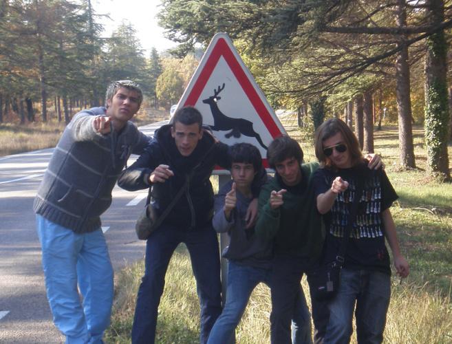 Les Chevreuils étaient en concert samedi à Forcalquier